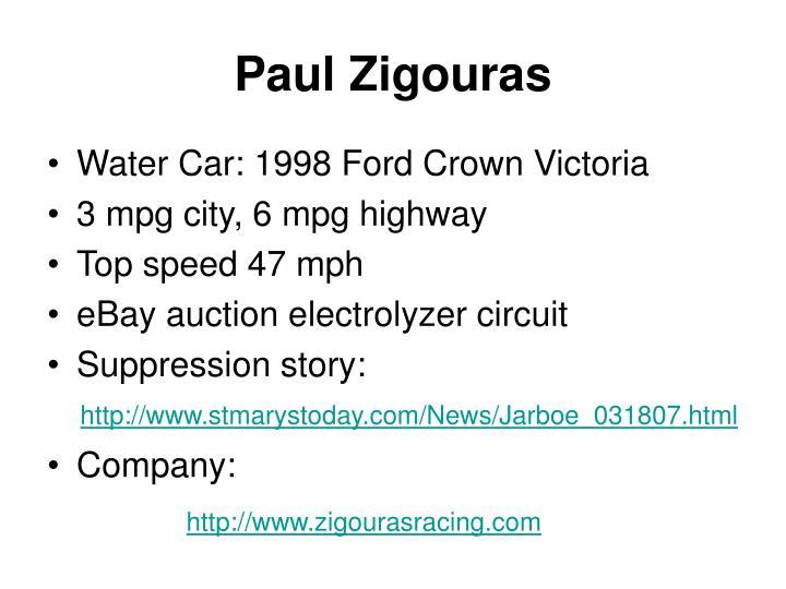 Paul Zigouras