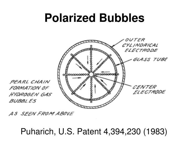 Polarized Bubbles