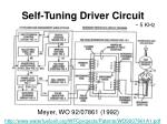 self tuning driver circuit