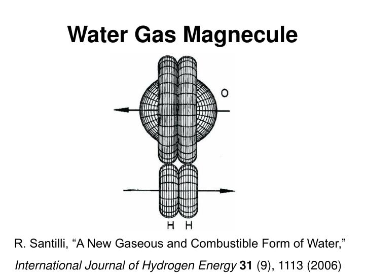 Water Gas Magnecule