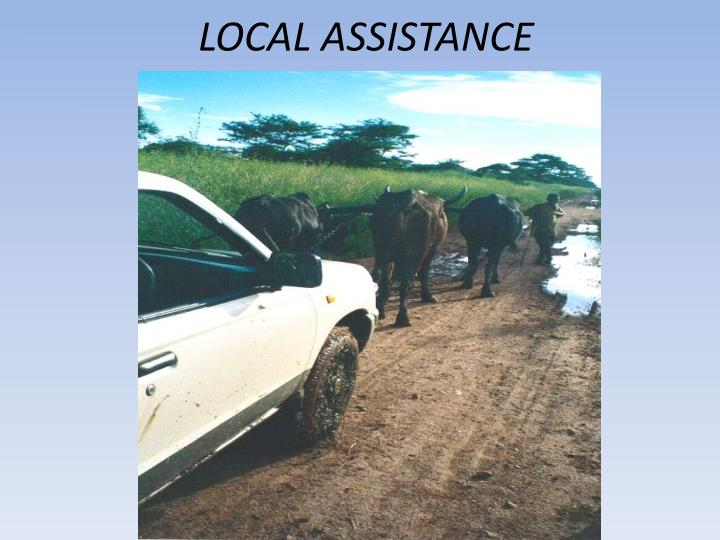 LOCAL ASSISTANCE