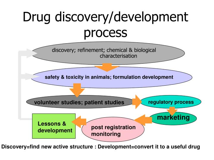 Drug discovery/development process