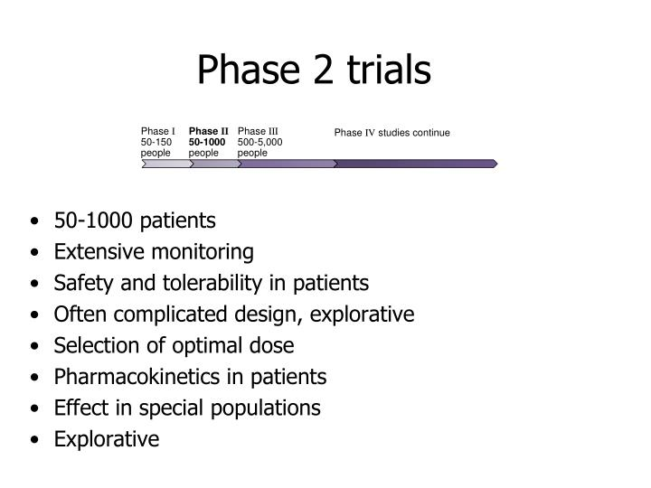 Phase 2 trials