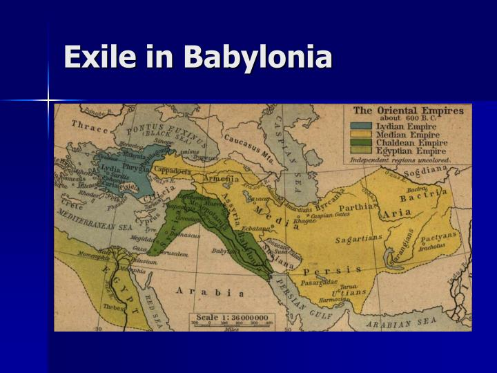 Exile in Babylonia