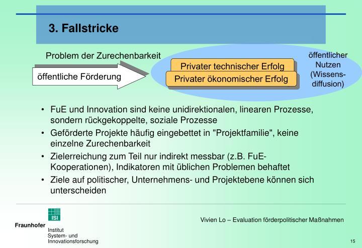 3. Fallstricke