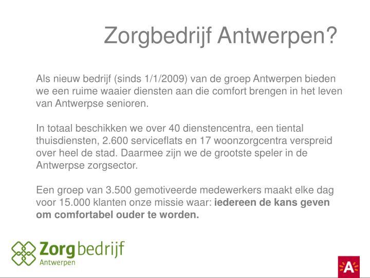 Zorgbedrijf Antwerpen?