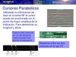 cursores parabolicos1