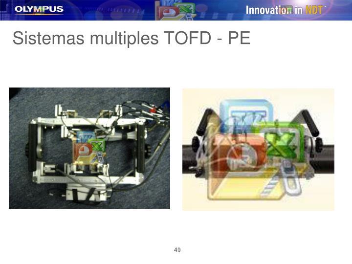 Sistemas multiples TOFD - PE