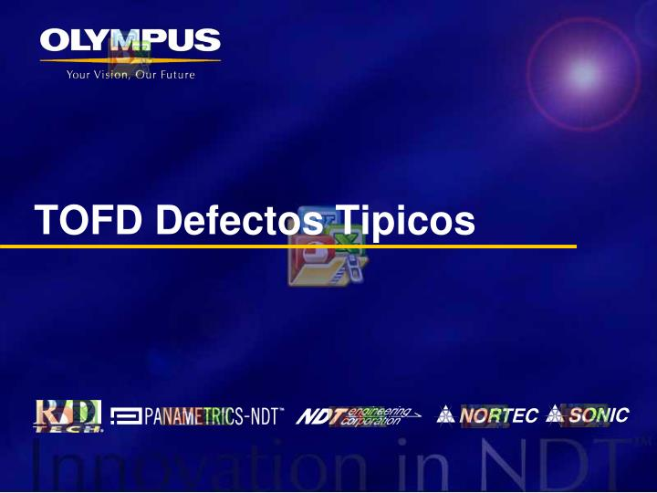 TOFD Defectos Tipicos