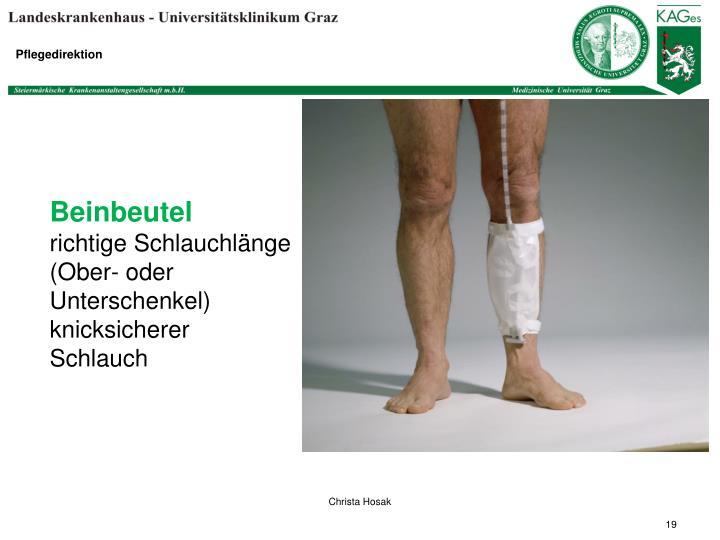 Beinbeutel