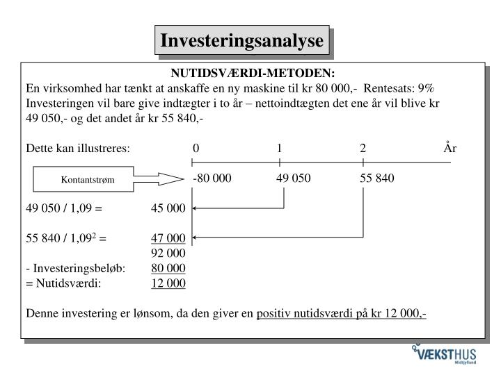 Investeringsanalyse