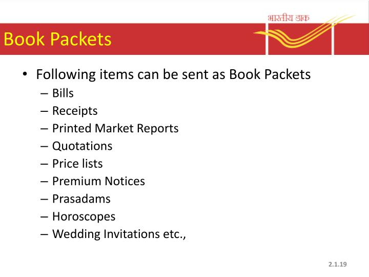 Book Packets