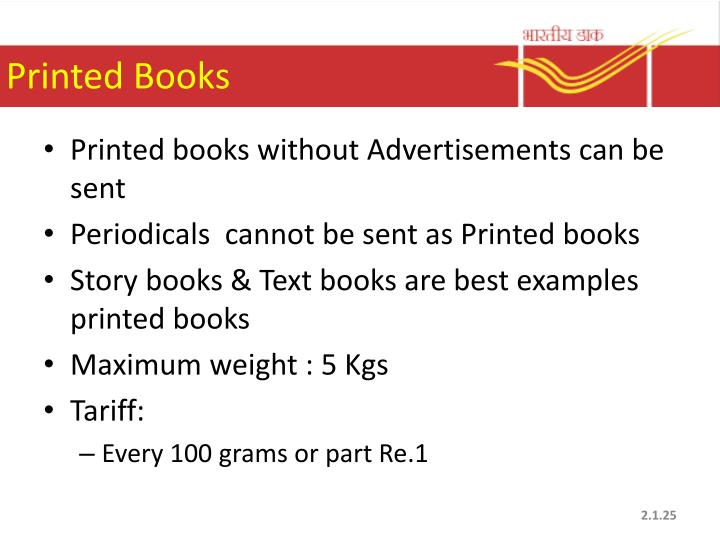 Printed Books