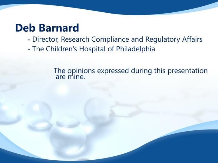 Deb Barnard