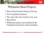 willamette basin projects