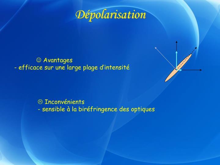 Dépolarisation