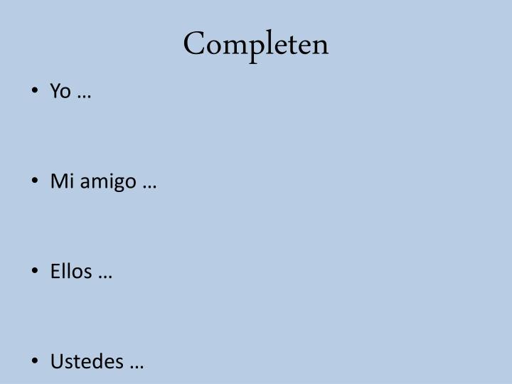 Completen