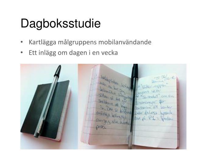 Dagboksstudie