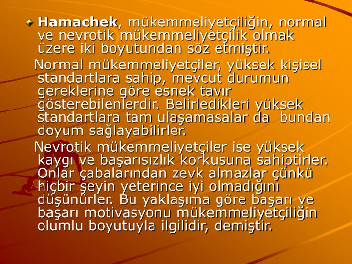 Hamachek