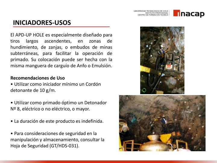 INICIADORES-USOS