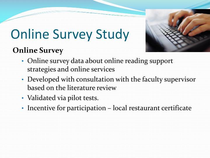 Online Survey Study