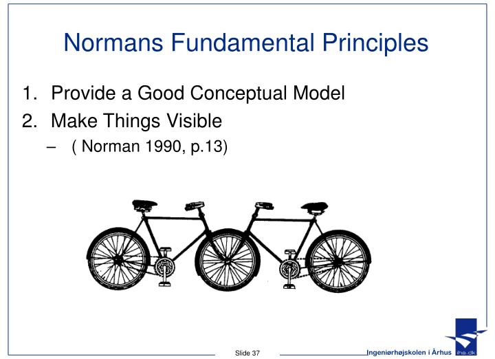 Normans Fundamental Principles