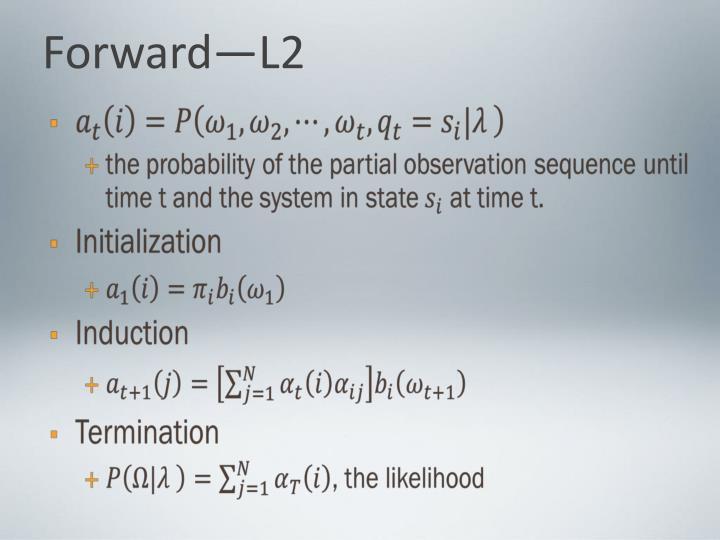 Forward—L2