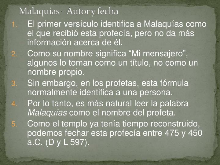 Malaquías