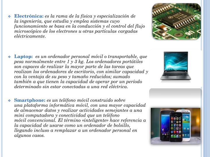 Electrónica: