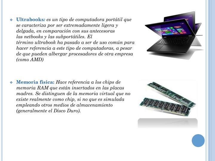 Ultrabooks