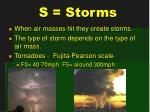 s storms