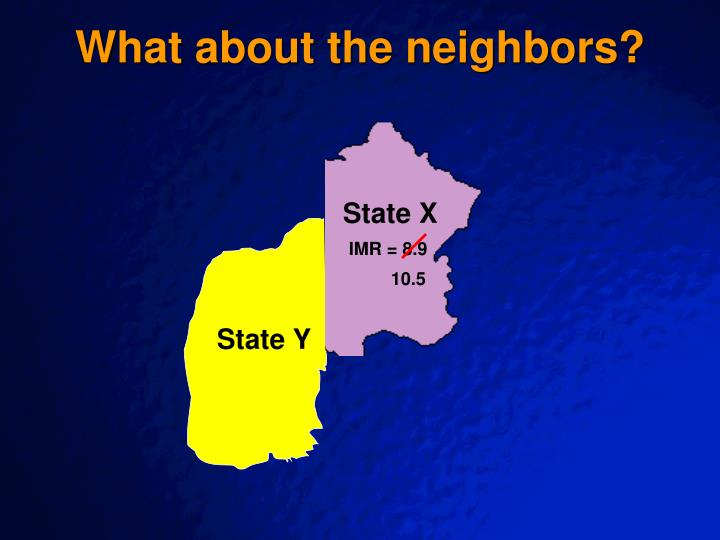 What about the neighbors?