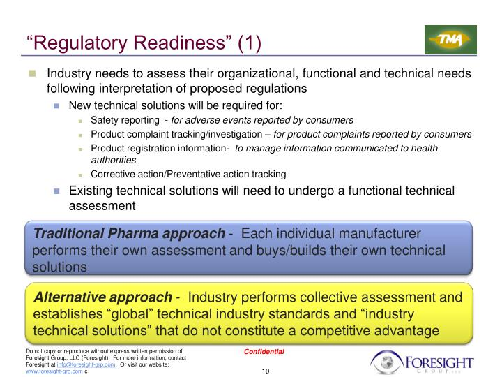 """Regulatory Readiness"" (1)"