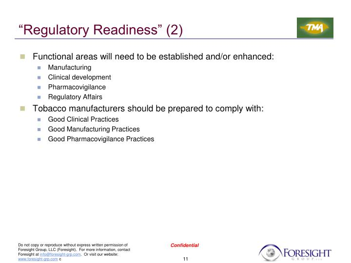 """Regulatory Readiness"" (2)"