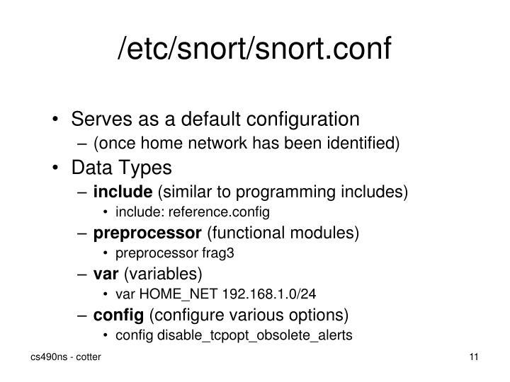 /etc/snort/snort.conf