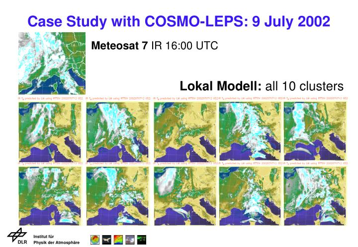 Case Study with COSMO-LEPS: 9 July 2002