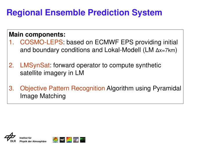 Regional ensemble prediction system1