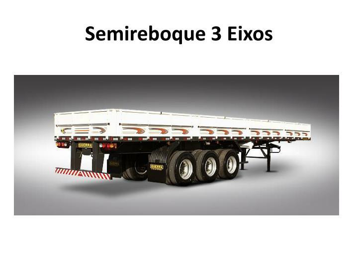 Semireboque 3 Eixos