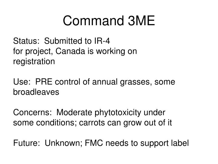 Command 3ME