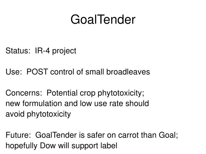 GoalTender