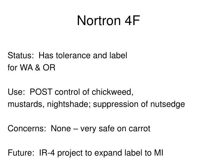Nortron 4F