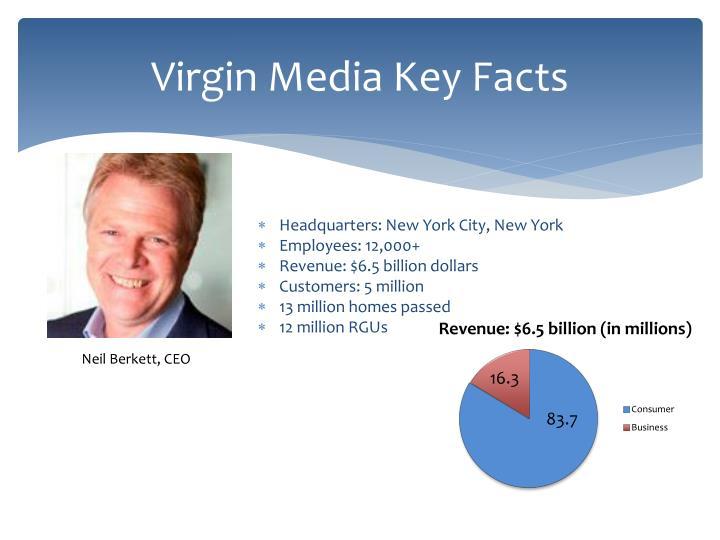 Virgin Media Key Facts
