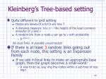 kleinberg s tree based setting1