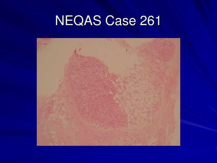NEQAS Case 261