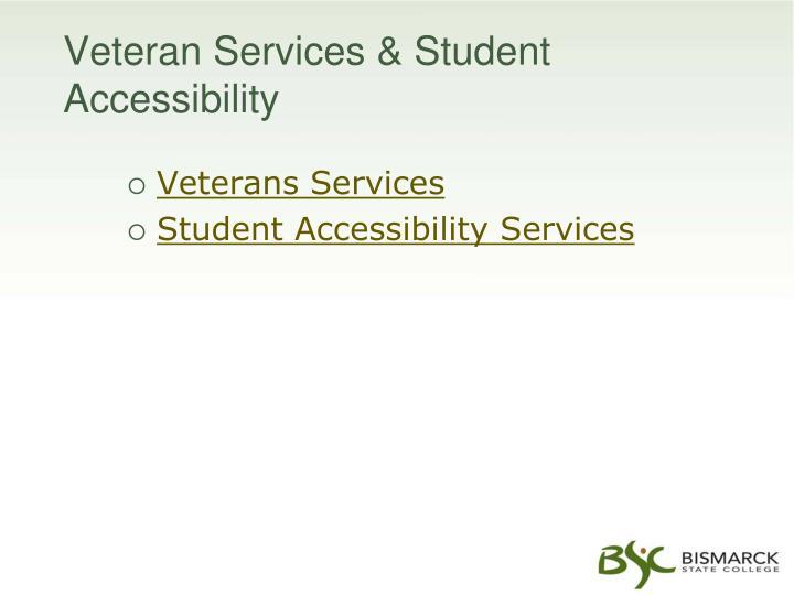 Veteran Services & Student