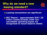 why do we need a new leasing standard3