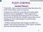 f uzzy c ontrol control theory4