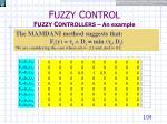 f uzzy c ontrol f uzzy c ontrollers an example21