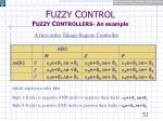 f uzzy c ontrol f uzzy c ontrollers an example3
