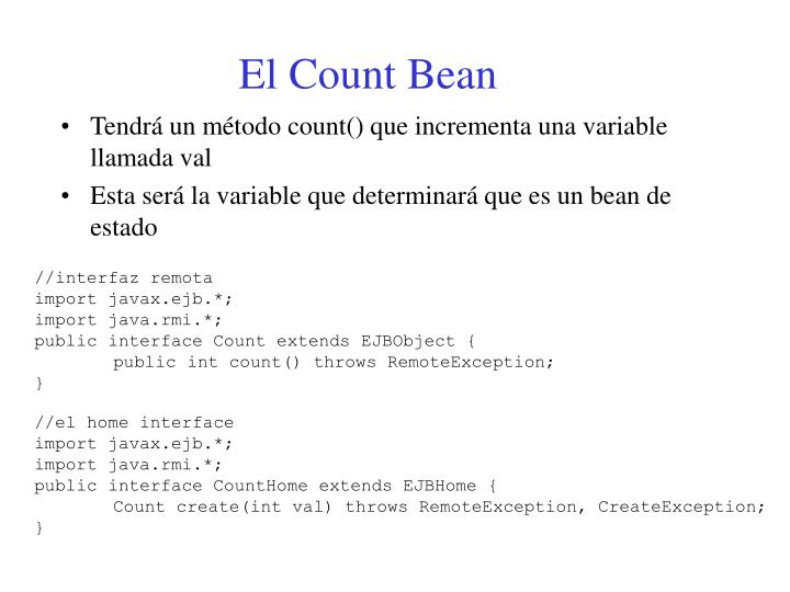 El Count Bean